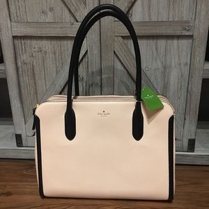 Kate Spade ♠️ Soft Rose Queeny Tote